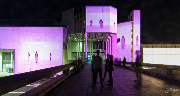 National Gallery of Australia lit up for Enlighten