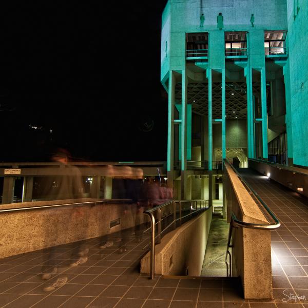 National Gallery of Australia lit up for Enlighten