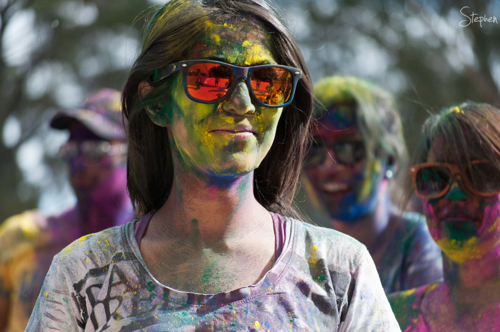 Holi Mela colours festival in Canberra