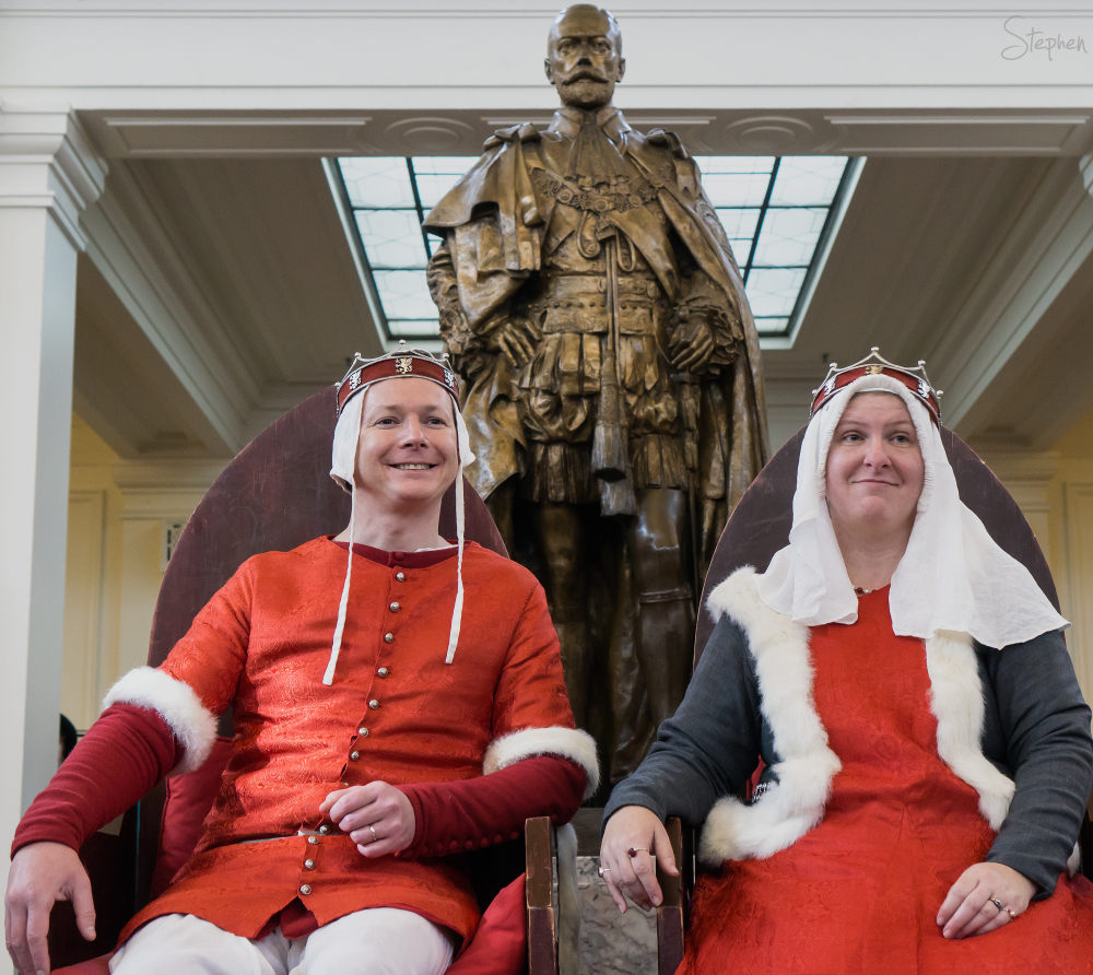Medieval Magna Carta Fest at Old Parliament House