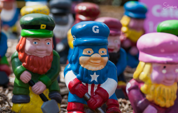 Gnome Knoll at the Floriade festival