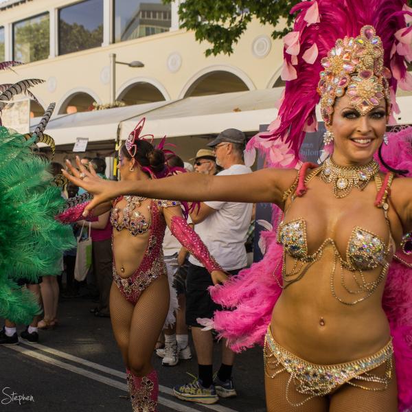 Rio carnival dance at Multicultural Festival
