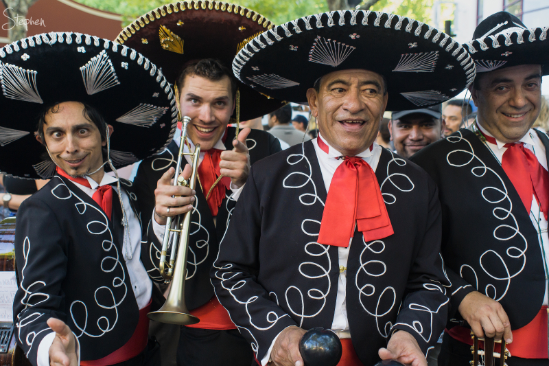 Three Amigos at National Multicultural Festival