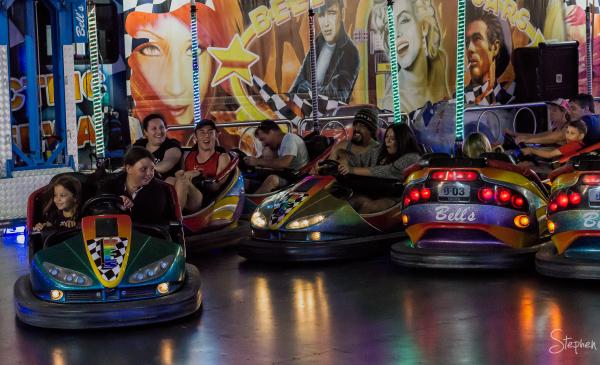 Dodgem cars at Canberra Show