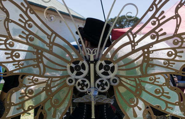 Steampunk Victoriana fair in Goulburn