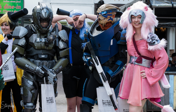 Impact Comics festival and cosplay competition