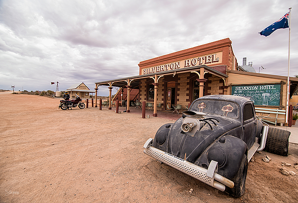 Silverton Hotel near Broken Hill