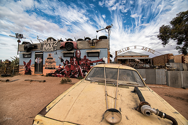 Mad Max II Museum at Silverton