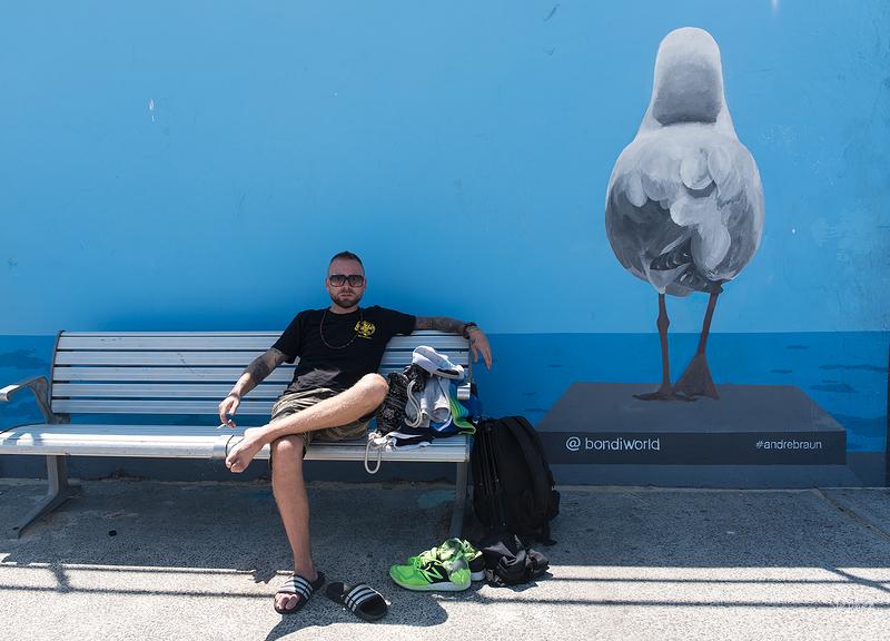 Portrait at Bondi Beach