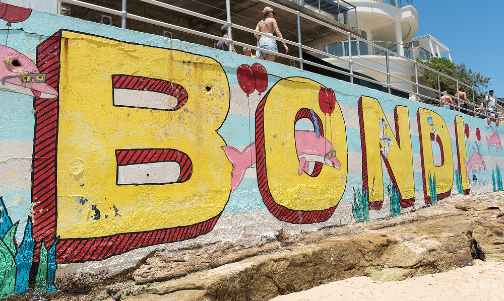 Mural at Bondi Beach