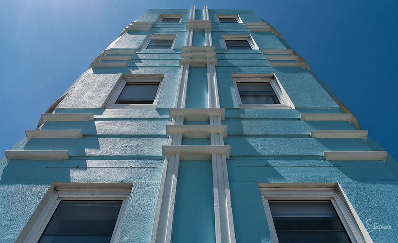 Art Deco building in Bondi