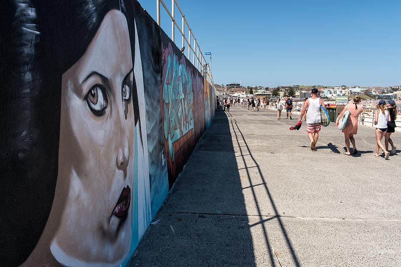 Mural at Bondi Beach
