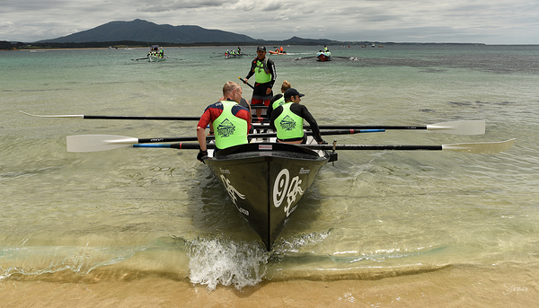 Surfboat marathon stage at Bermagui