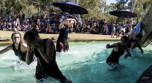Australian Dance Party performs at Art, Not Apart