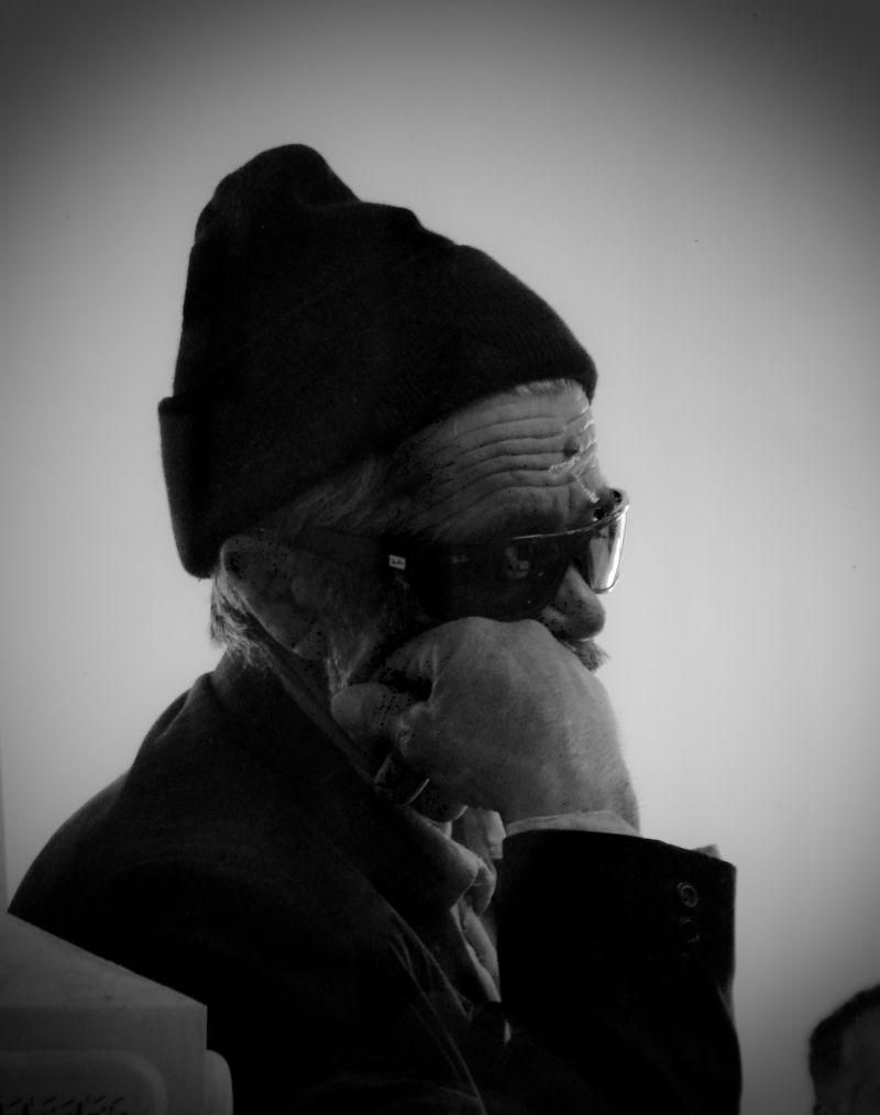یک پیرمرد روستایی