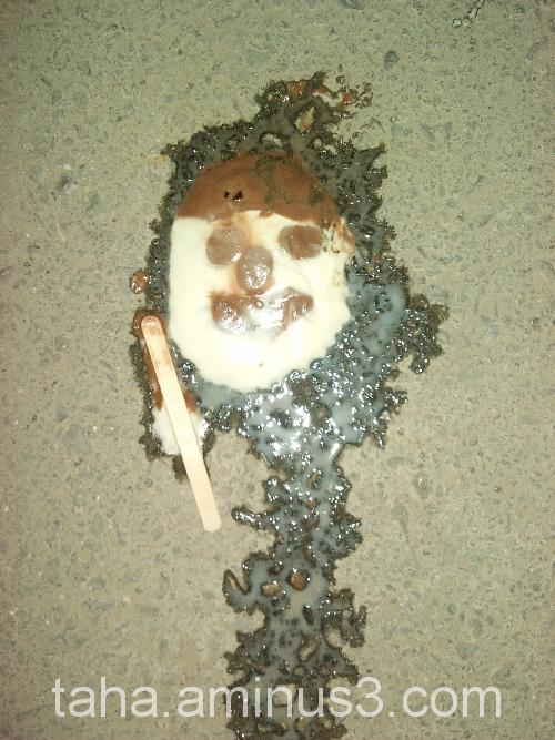 "Killing ""Ice cream"" On the street"
