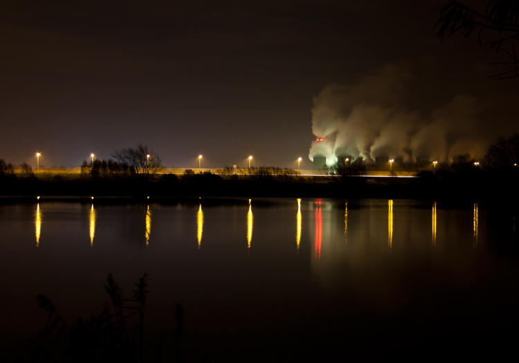 Long Exposure Power Station