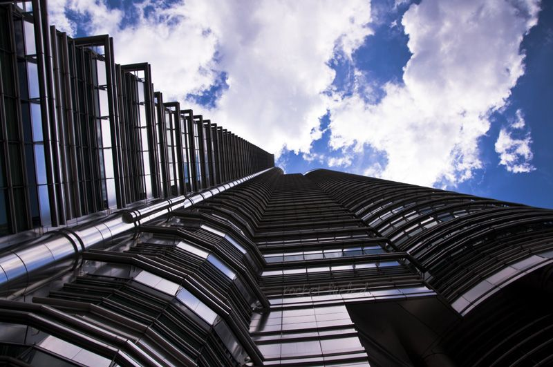 KLCC twin towers KL