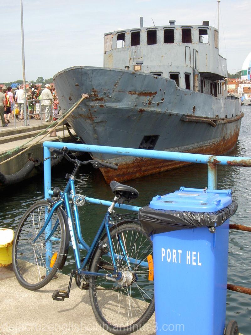Port Hel, Ship, Poland
