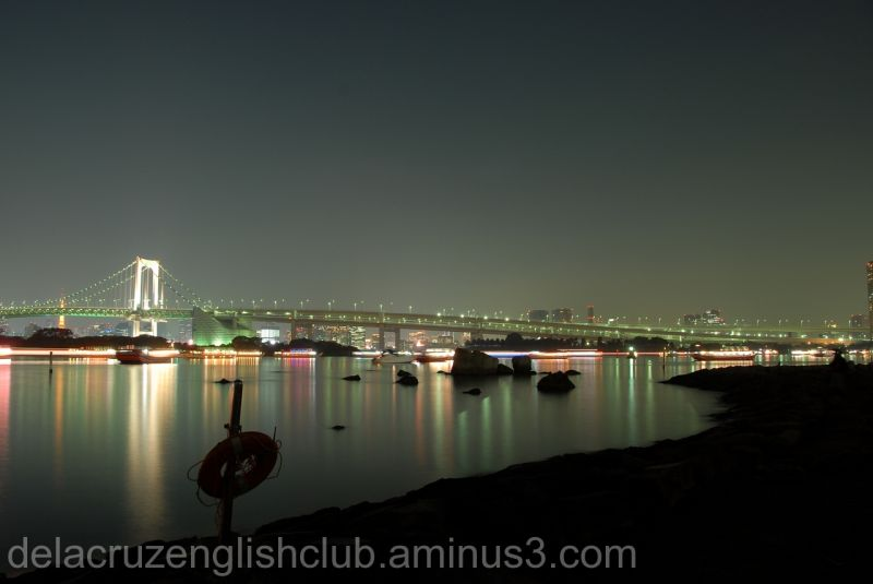 Rainbow Bridge, Suspension Bridge, Odaiba
