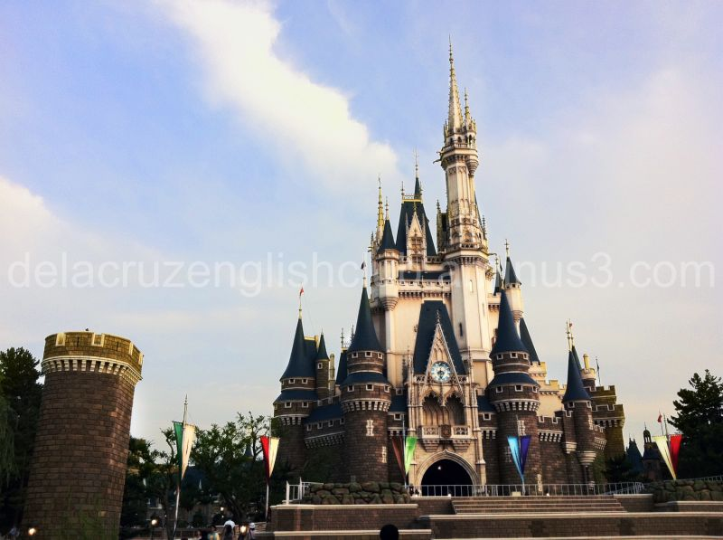 A beautiful day at Tokyo Disney