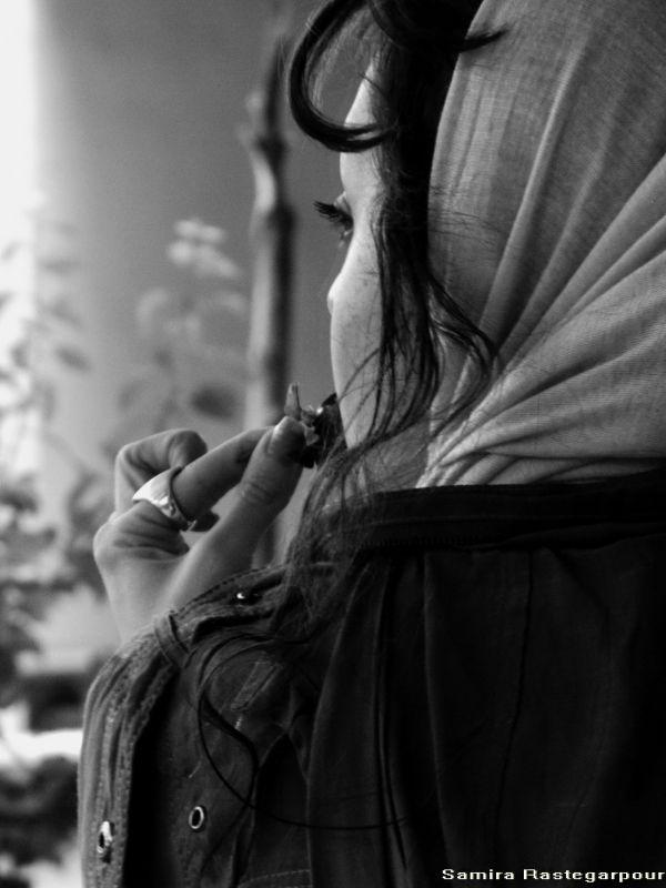 روسری ِ رقصنده با باد می روی در یاد بر بند رخت