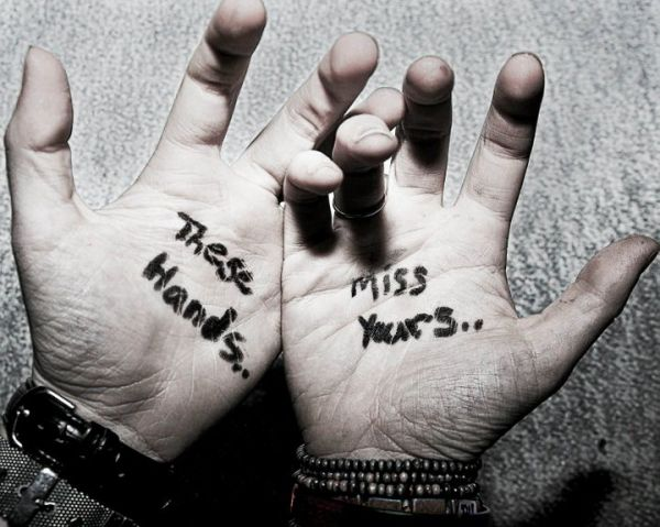 These Hands Miss Yours..