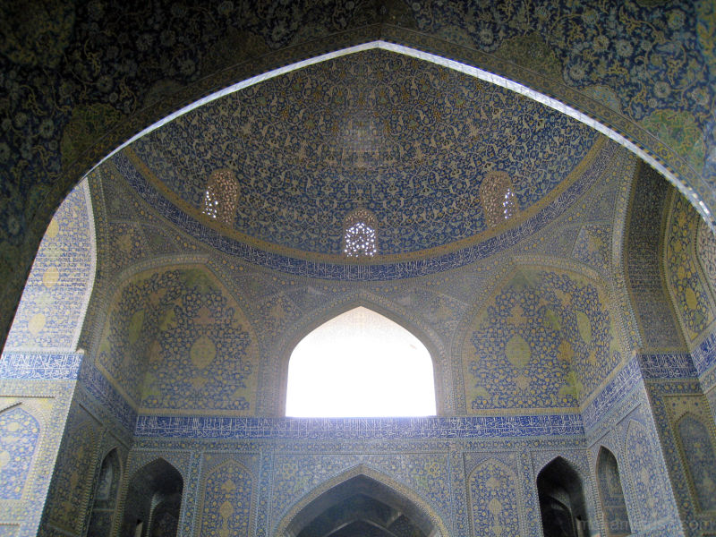 A mosque in Isfahan