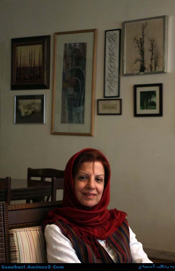 فرزانه منصوری همسر نادر ابراهیمی