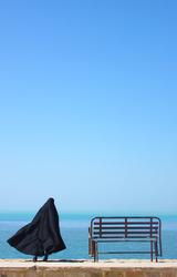 Persian gulf  & Iranian woman
