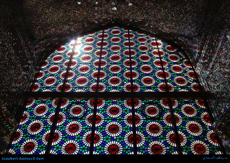 پنجره سنتی ایرانی iranian window