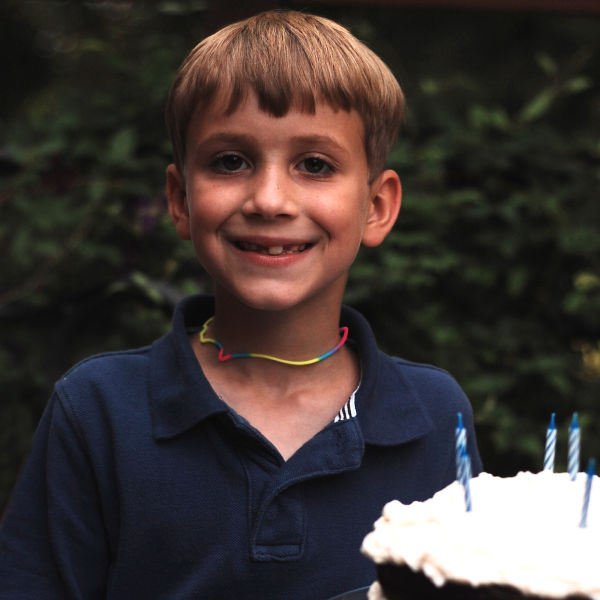 Happy Birthday to my son!  He's 7