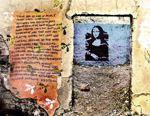 BISBEE MONA LISA - GRAFFITI