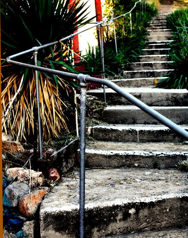 OLD STAIRWAY - BISBEE AZ