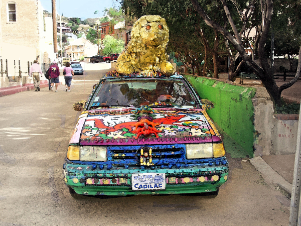 MAGIC FORTUNE TELLING  LION CAR