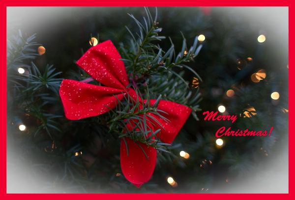 bow, Christmas