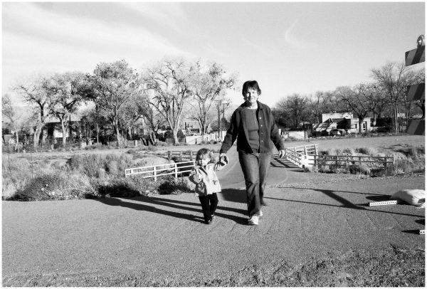 Walking on the Rio Grande