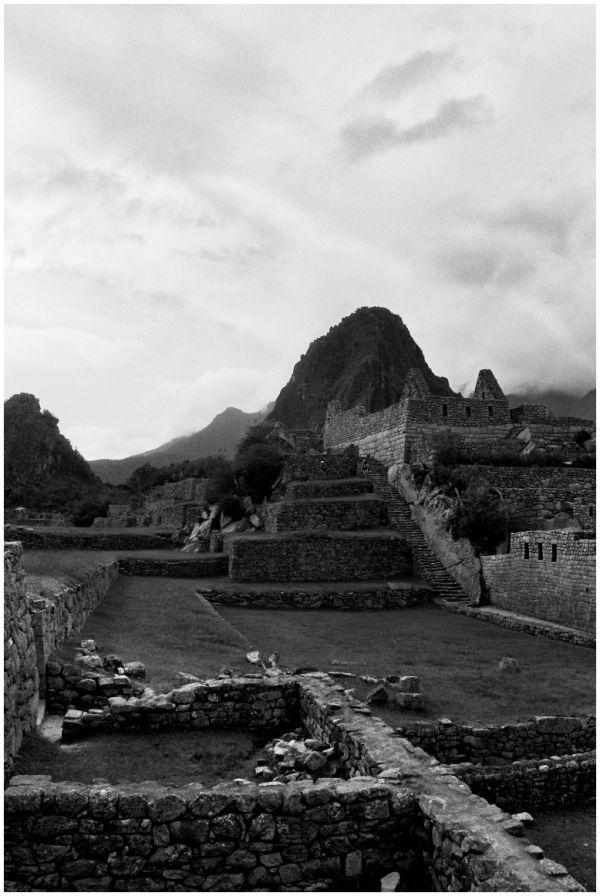Sacred Plaza of Machu Picchu