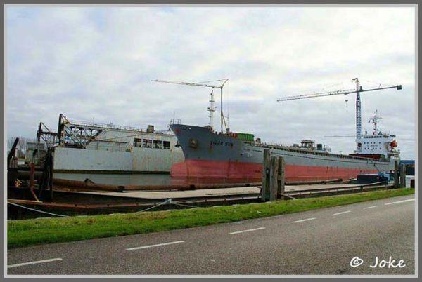 Shipyard at Sluiskil