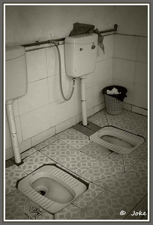 Toilet in China