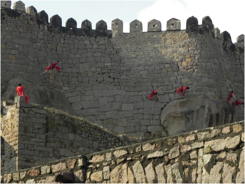 Bandaloop performing @ Golconda Fort, Hyderabad