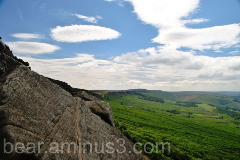 Stanage Edge from High Neb