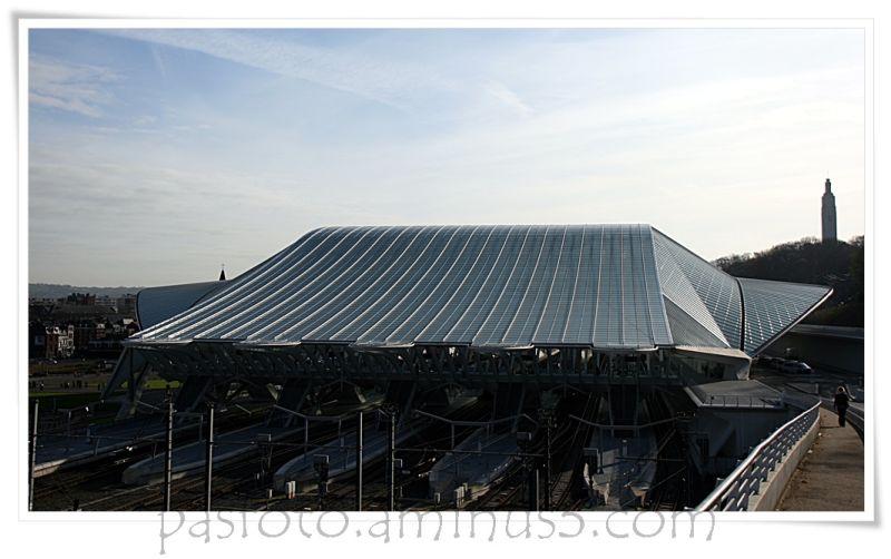 Liège , Luik , Lüttich, train station ,