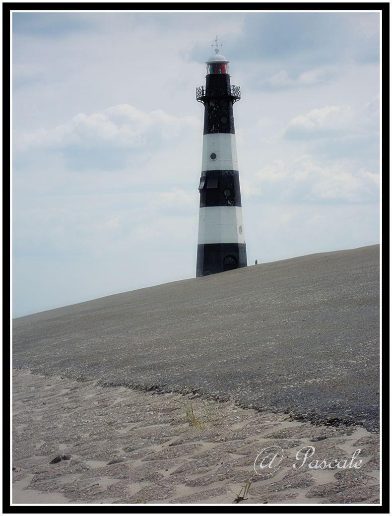 Breskens, lighthouse, Netherlands