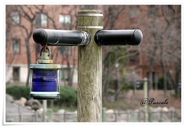blue , light,NY