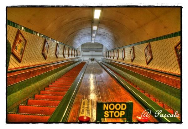 Sint-Annatunnel , antwerp, tunnel