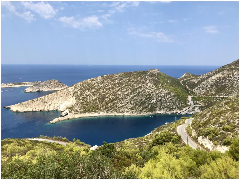 porto vromy , zakynthos , landscape