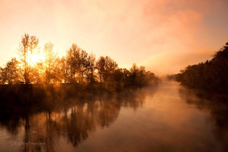 Dawn on the Savannah River, Augusta GA