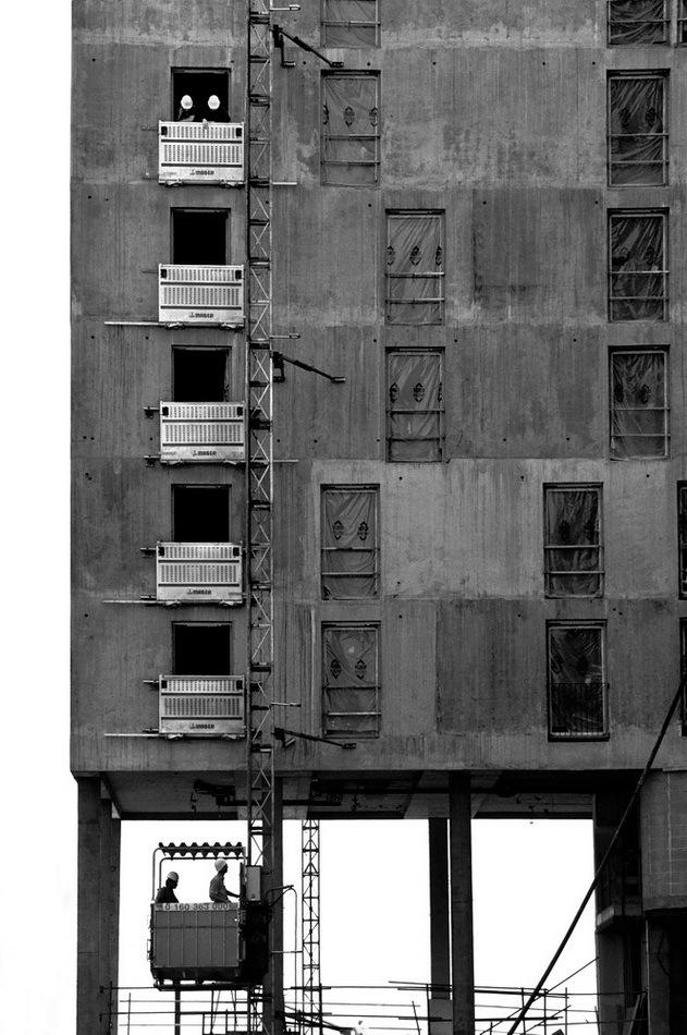 5e étage avec ascenseur