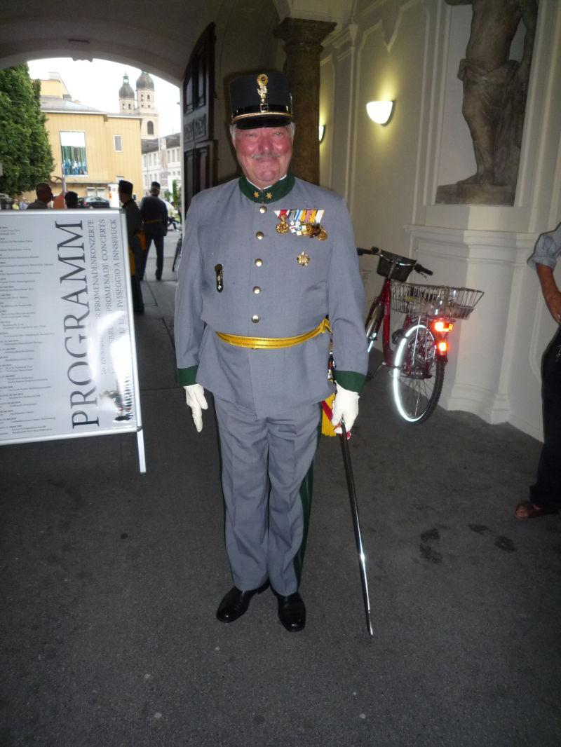 Proud Austrian soldier (retired)